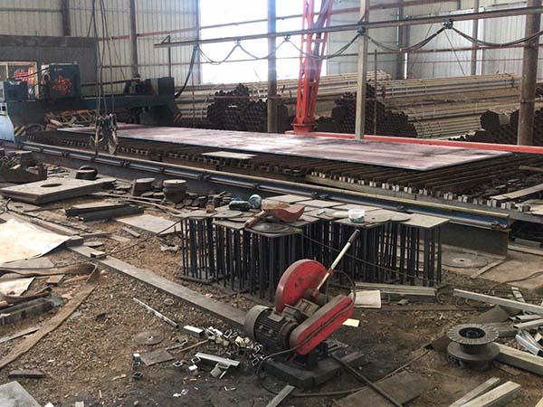 钢板生产加工
