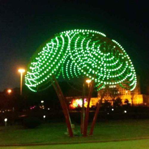 雕塑景观灯