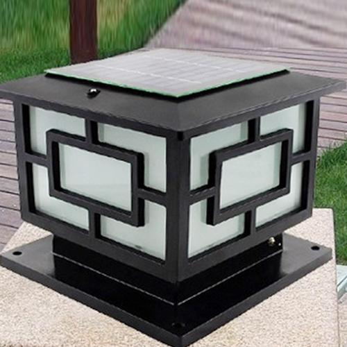 太阳能led柱头灯