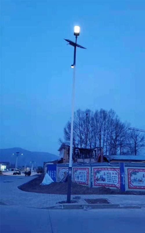 古浪县黑松驿太阳能路灯项目