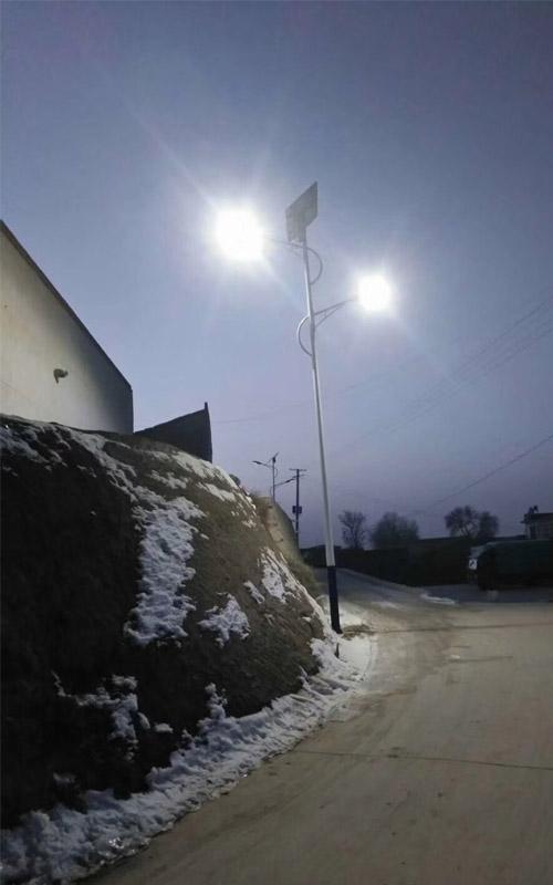 榆中县和平镇和平村路灯项目