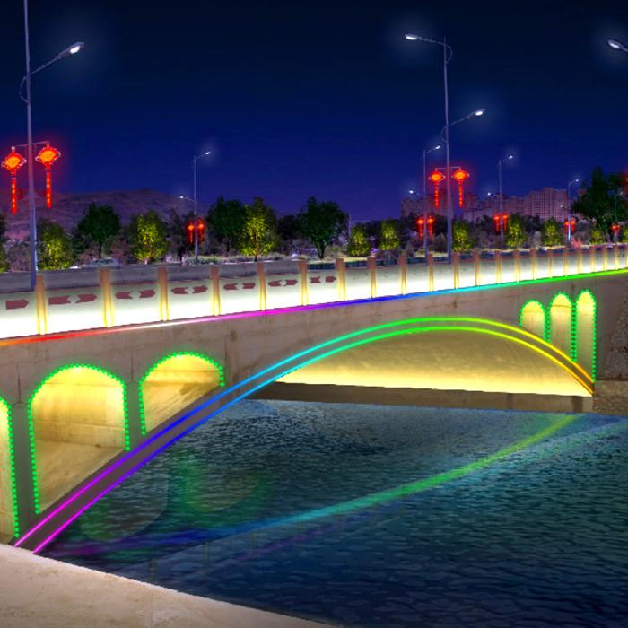 定西桥梁亮化