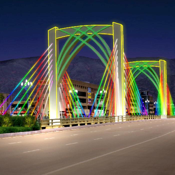 定西桥梁亮化工程