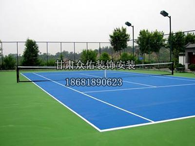 兰州硅pu羽毛球场地板