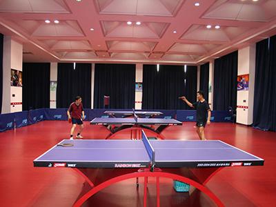 硅pu乒乓球场地板