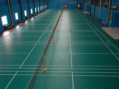 兰州羽毛球pvc运动地板