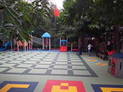 室外pvc运动地板