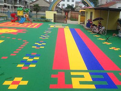 幼儿园运动地板