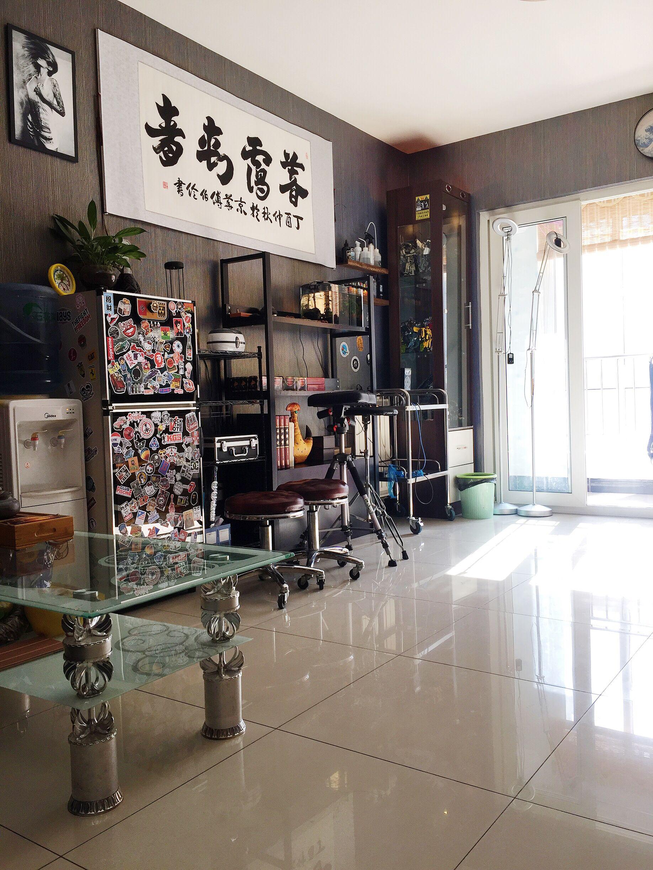 纹身店复古装修