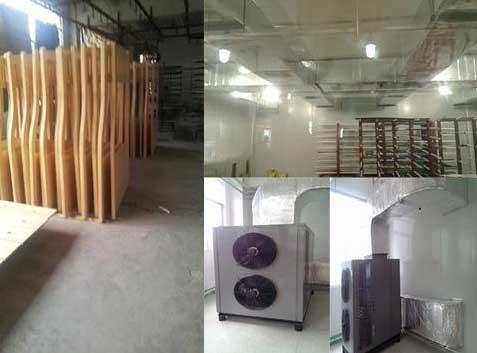 木材烘干设备排除木材中的自由水和吸着水