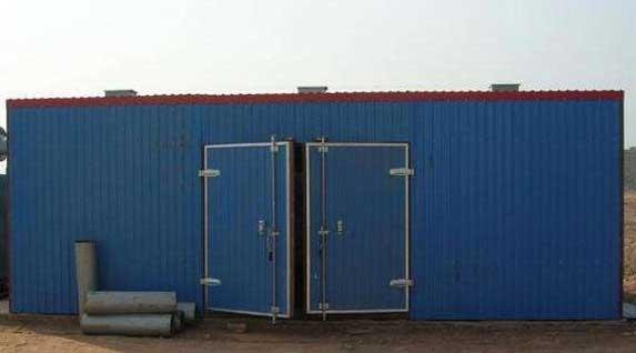 木材烘干设备厂家论述在木材干燥房的施工优点