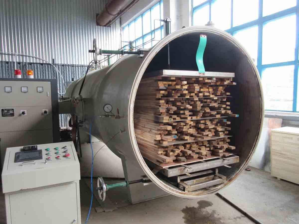 木材高频真空干燥设备