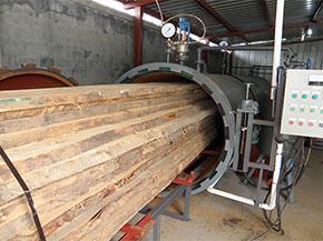 木材干燥設備積極進軍國際市場