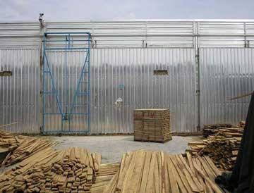 木材干燥机:烘干木材有助于提高利用率