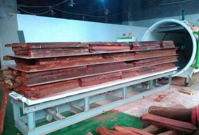 上海木材真空干燥设备