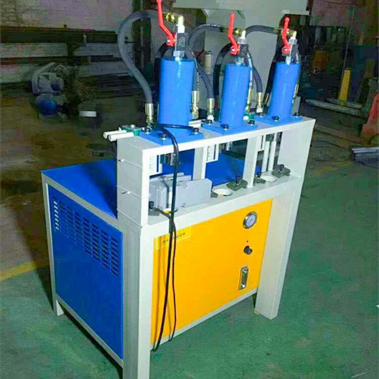 三工位半自動液壓沖孔機