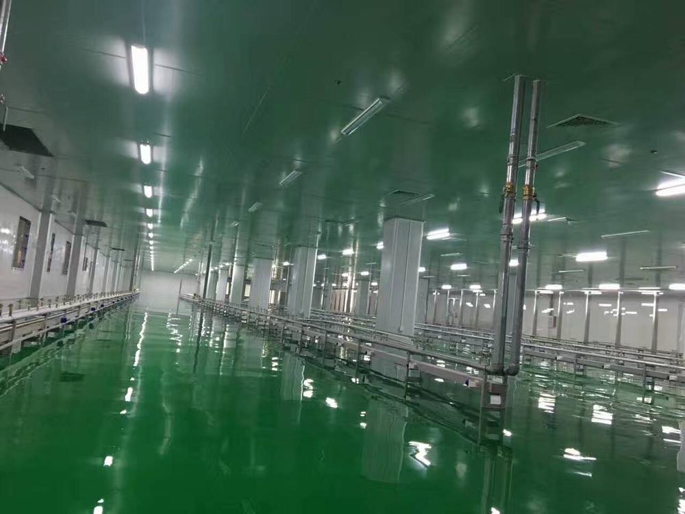 河源龙川电子厂防静电自流平