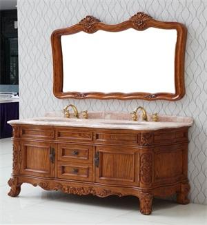实木浴室柜该如何保养