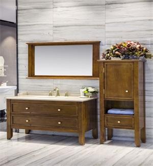 多层实木浴室柜