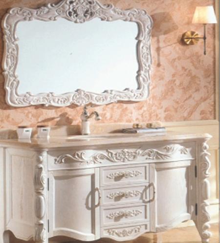 沈阳浴室柜厂家产品展示——欧式浴室柜