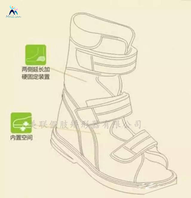 矫形鞋的第一个制作步骤是进行脚型测量