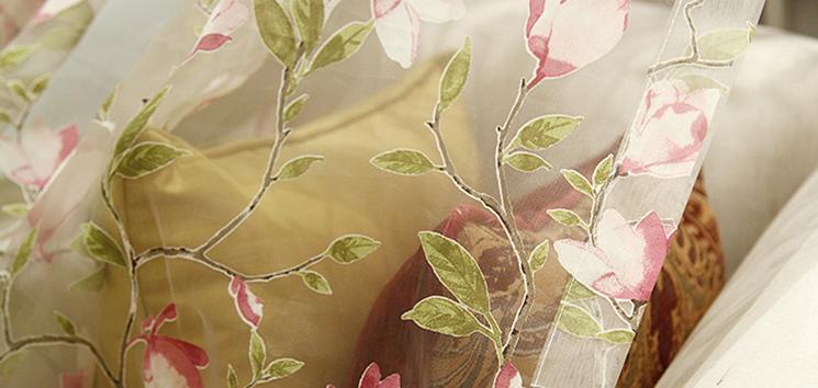 <h4>布艺窗帘</h4><p>每种布艺窗帘的布料不同,所使用用途也大不相同。</p>