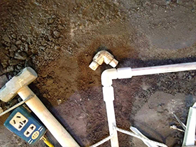 地面防水补漏