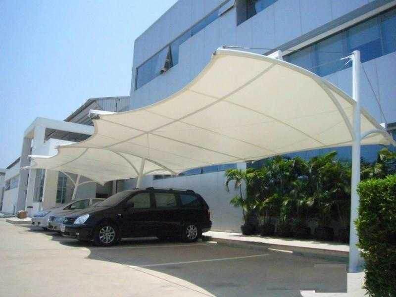 膜结构候车遮阳棚