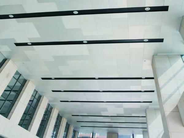 闽创菱形鳞片状铝单板幕墙使建筑极富雕塑感