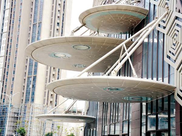 福州V型铝方通吊顶