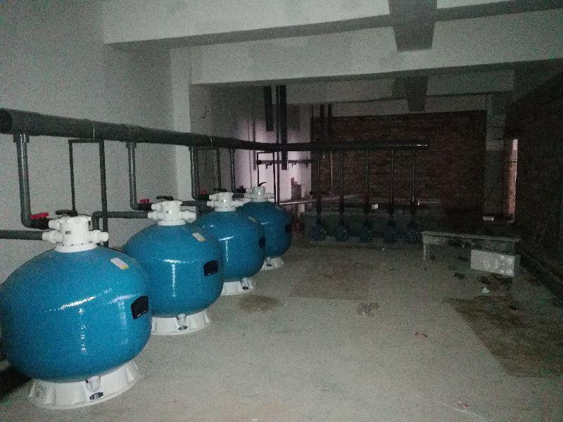 铜川会所泳池设备安装_会所泳池防水胶膜安装