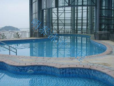 可定做任何形狀異形的鋼圍板屋頂整體泳池項目