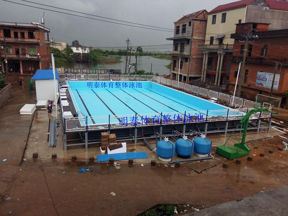 任何规格的钢结构游泳池维修明泰都能做到