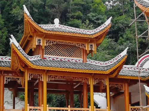 贵州防腐木木亭