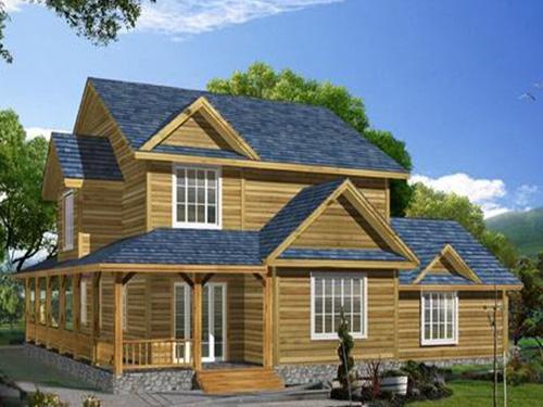 贵州防腐木木屋造型