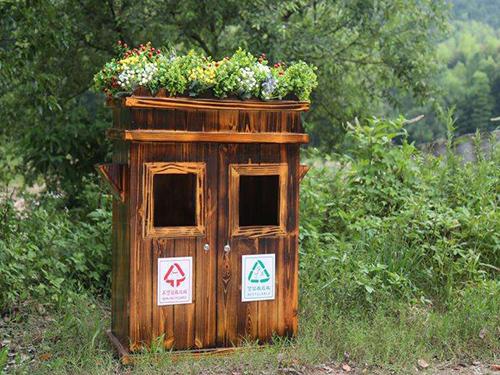 畢節防腐木垃圾箱單價