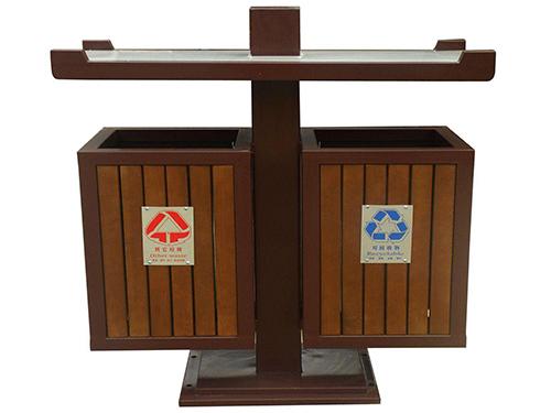 畢節防腐木垃圾箱批發