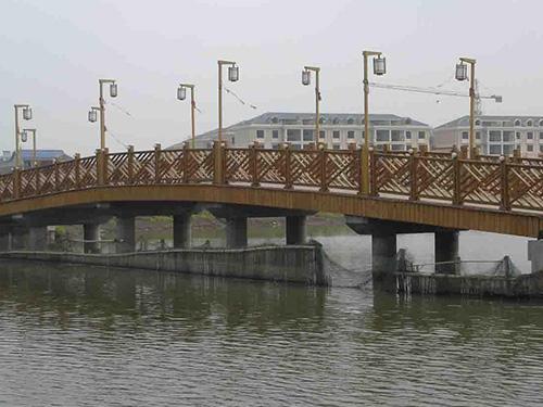 贵州防腐木桥梁生产制造