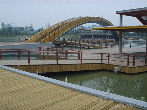 貴陽防腐木橋梁生產制造
