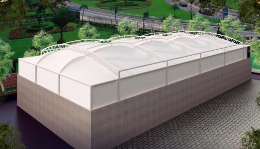 你知道如何设计污水池膜加盖的排水吗?