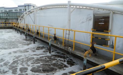 膜结构污水池满足使用单位后期方便维护操作
