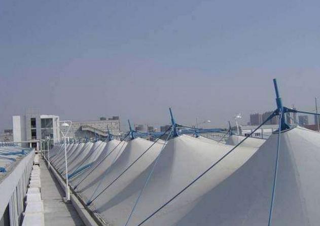 膜结构污水池反吊模
