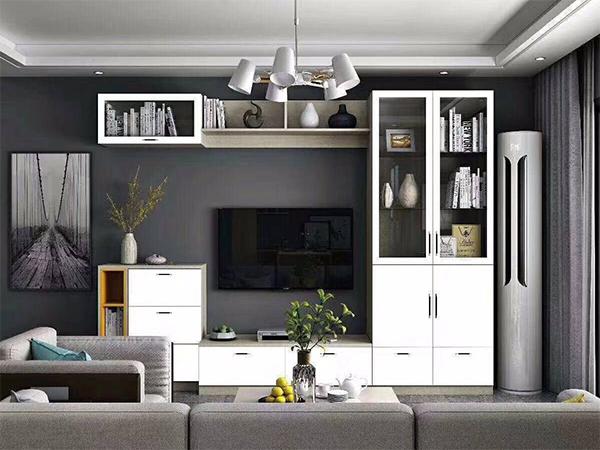 客厅全铝电视柜