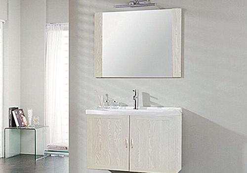 浴室环境优美,从泉州铝合金浴室柜开始!