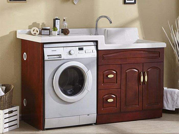 太空铝洗衣柜