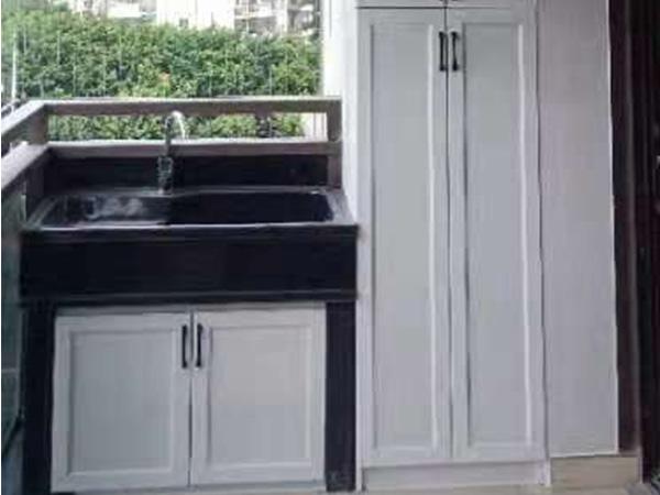 全铝落地洗衣柜