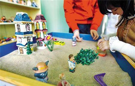 儿童团体沙盘游戏
