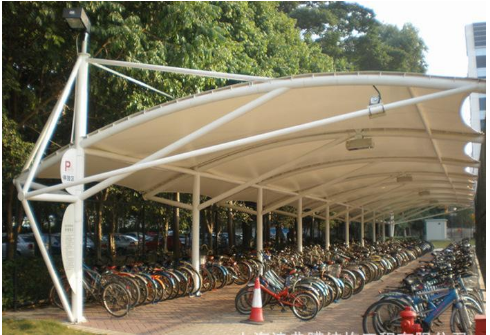 杭州膜结构车棚给大家生活带来的益处