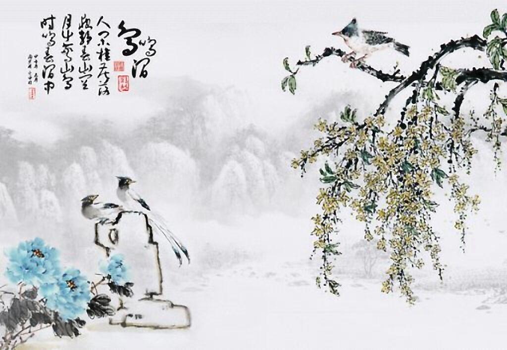 新中式壁画