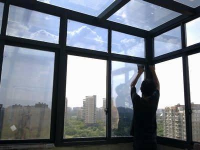 玻璃阳光房贴膜的五大理由